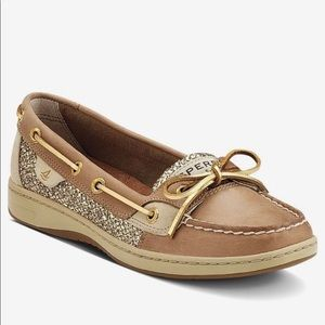 Sperry gold shoes